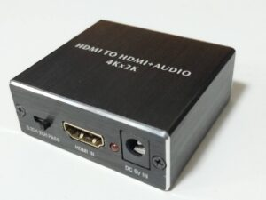 HDMIオーディオ分離器